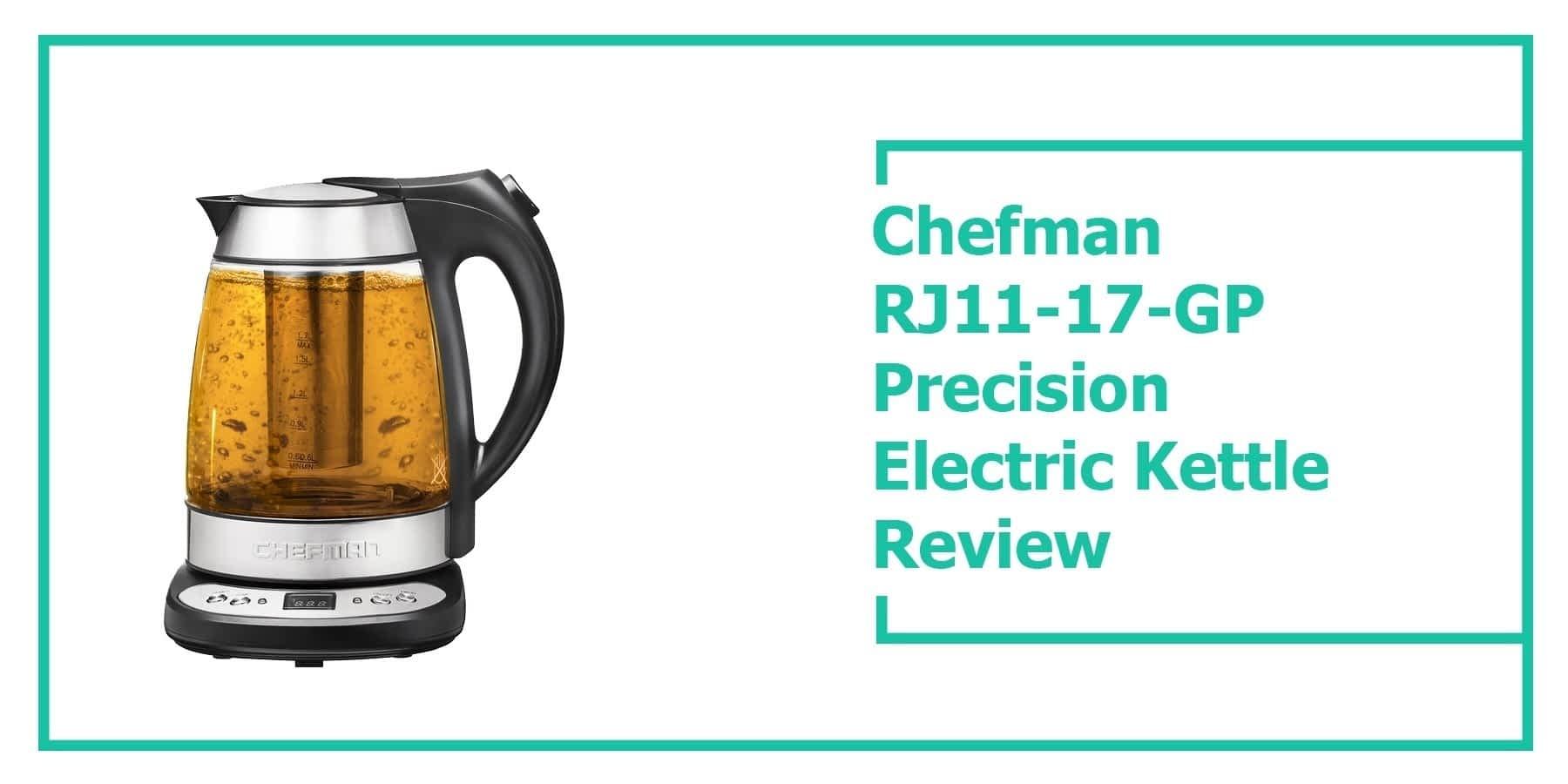 Chefman RJ11-17-GP Precision Electric Kettle Review