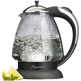 Capresso 259 H20 Plus Glass Water Kettle
