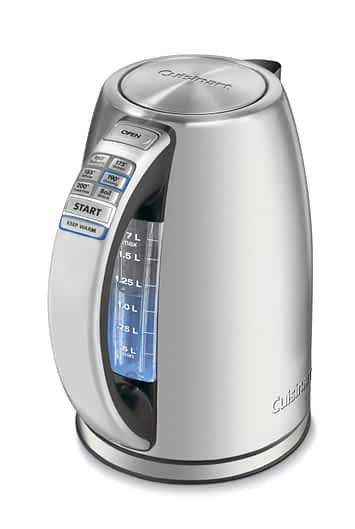 Cuisinart CPK-17 PerfecTemp Stainless Steel Cordless Electric Kettle Review