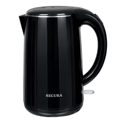 Secura 1.8 Quart Stainless Steel Cordless Electric Water Kettle