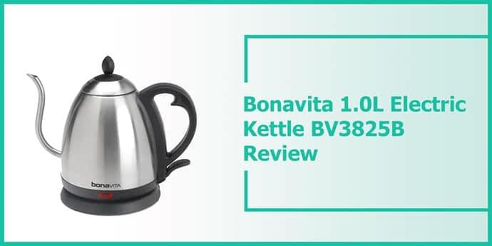 bonavita 1.0l electric kettle bv3825b