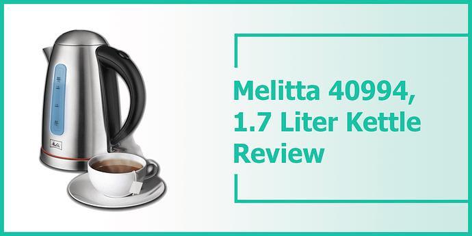 melita express kettle